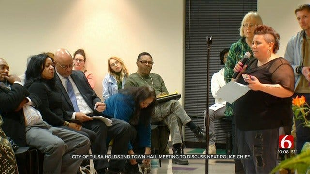 Tulsans Voice Strong Opinions On What They Want In Next Police Chief