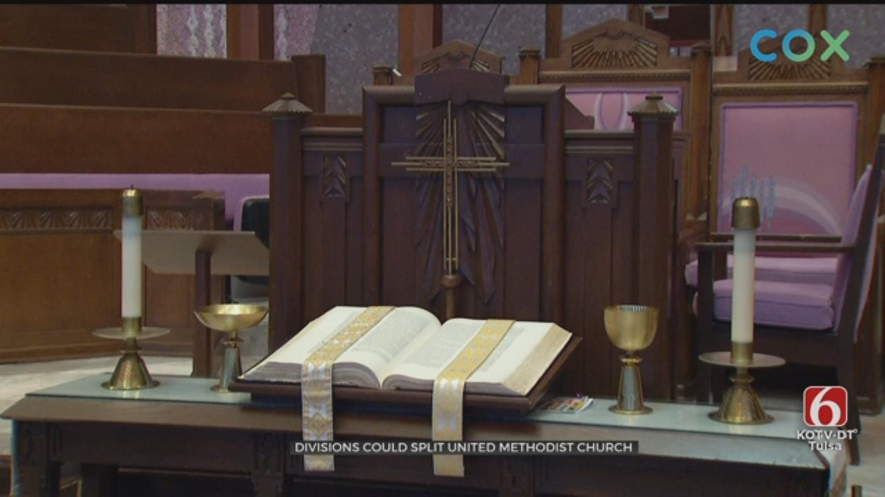 United Methodist Church Split Possible Due To Division Over Gay Marriage