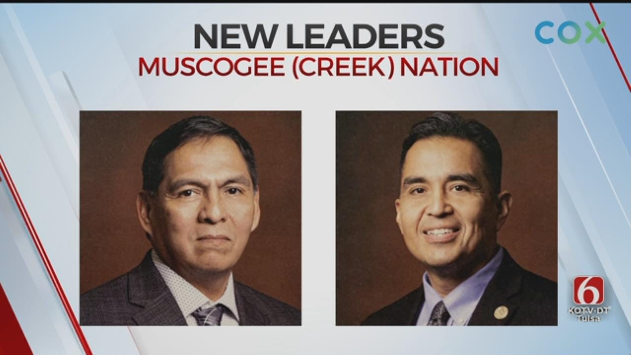 Muscogee (Creek) Nation Inaugurates 2 New Leaders