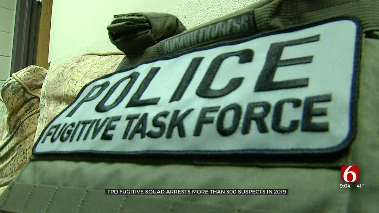 Tulsa Police Fugitive Warrants Unit Works To Make City Safer