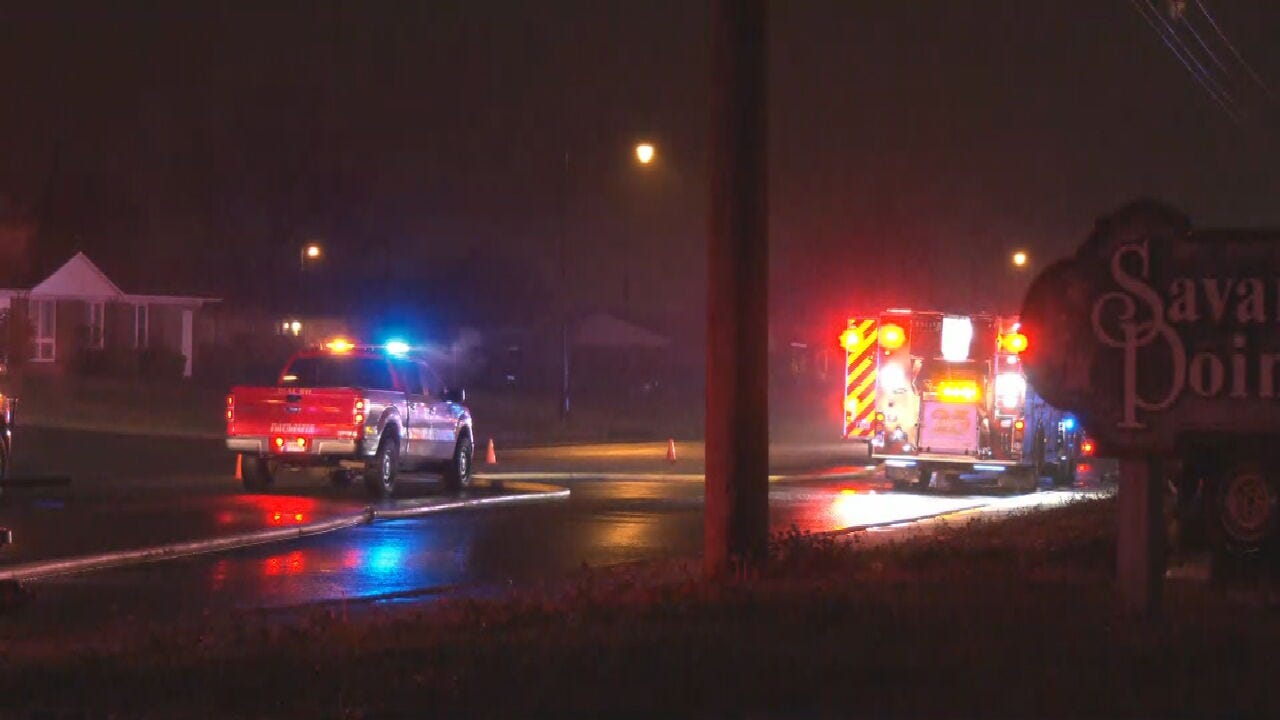 Firefighters Respond To Fire In Warr Acres Overnight