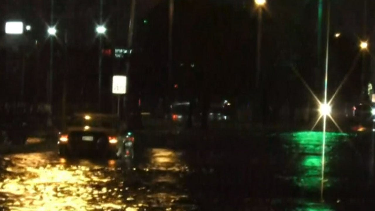 WATCH: Oklahoma City Police And Firefighters Respond To High Water Rescues