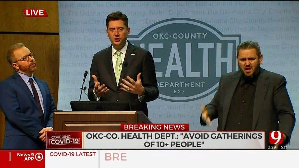 OKC Mayor Announces Closure Of Public Venues, Restaurant Restrictions Due To Coronavirus