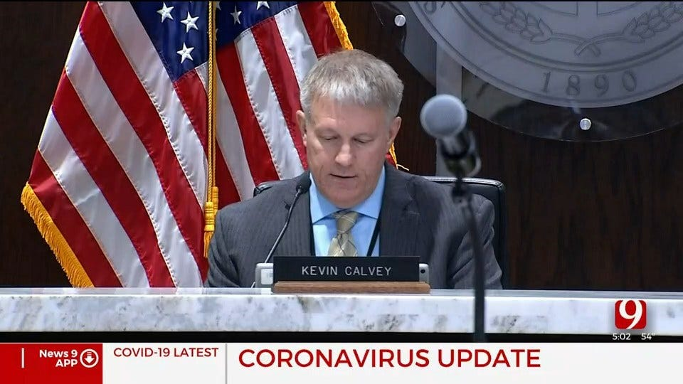 State Of Emergency Declared In Oklahoma County Due To Coronavirus Outbreak