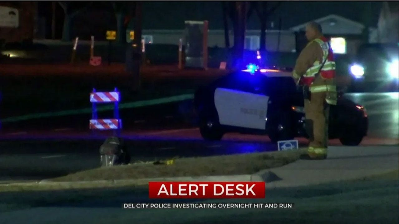 Del City Police Investigate Hit And Run Crash
