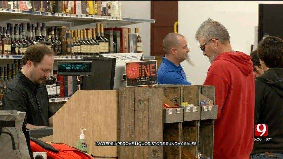 Voters Approve Liquor Store Sunday Sales