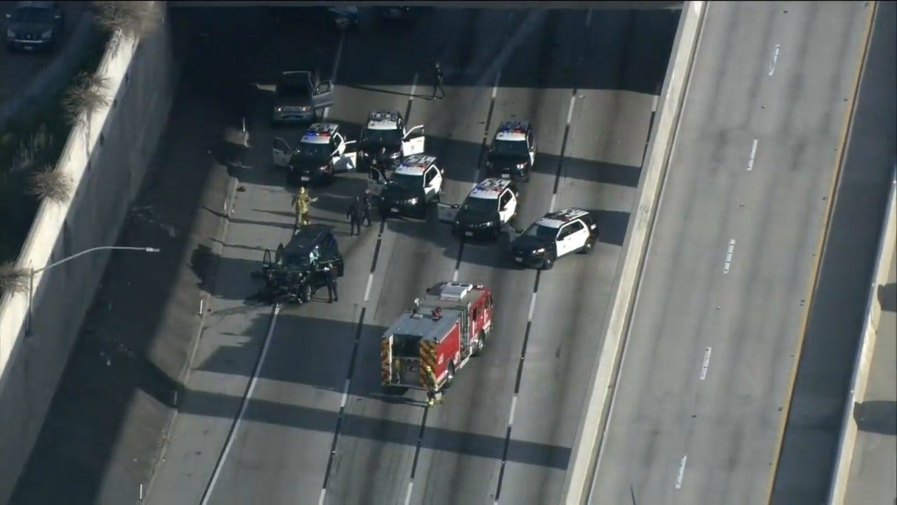 Stolen Hearse Carrying Casket Recovered After Freeway Chase