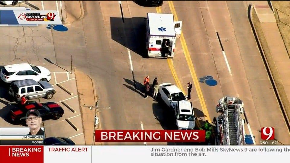 Crews Respond To Multi-Vehicle Injury Crash Involving Students Near Moore HS
