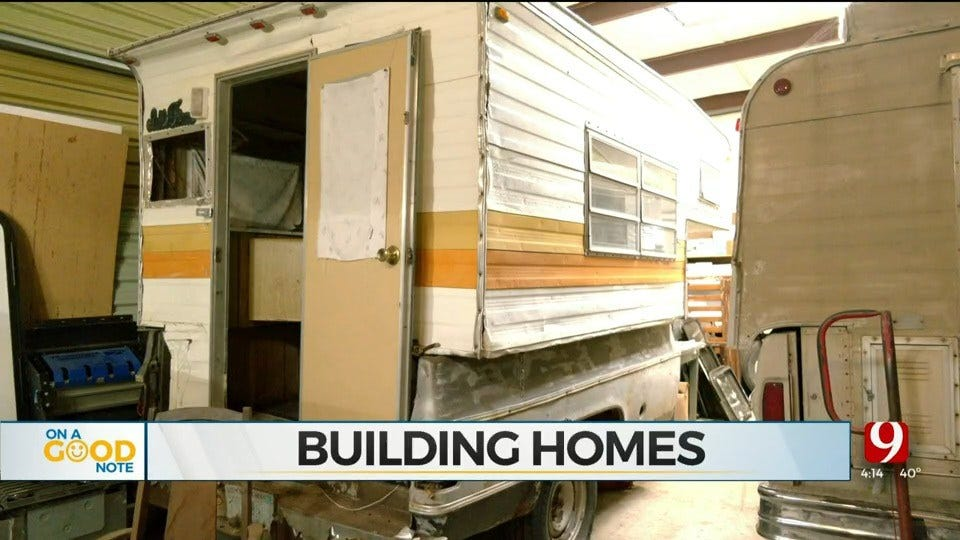 Del City Man Renovating RV's For The Homeless