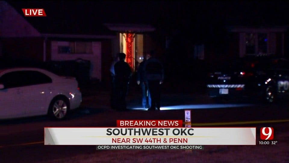 Police: Teenager Shot In Drive-By Shooting In SW OKC