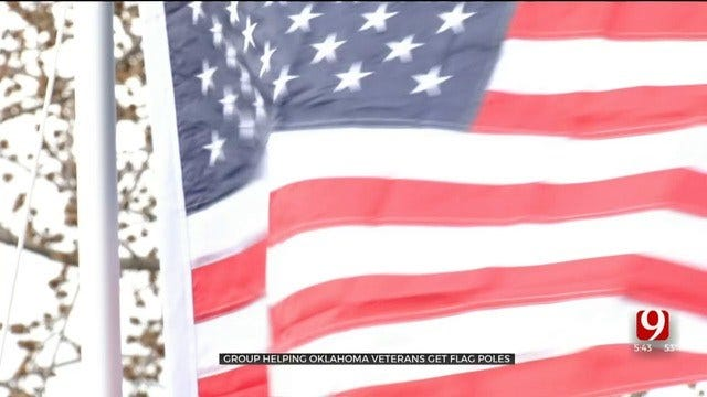 Local Group Honors Veterans One Flagpole At A Time