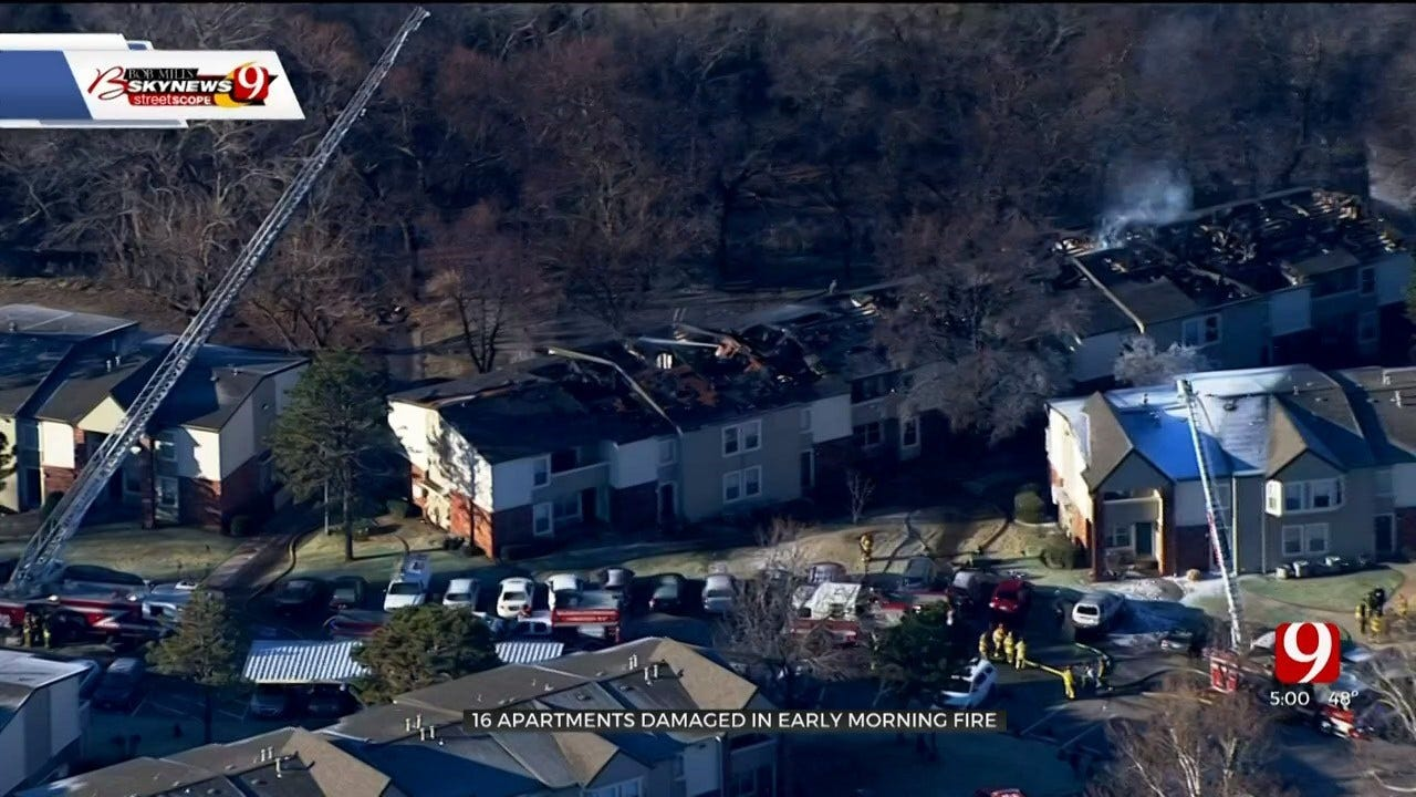 16 Apartments Damaged In Early Morning Fire