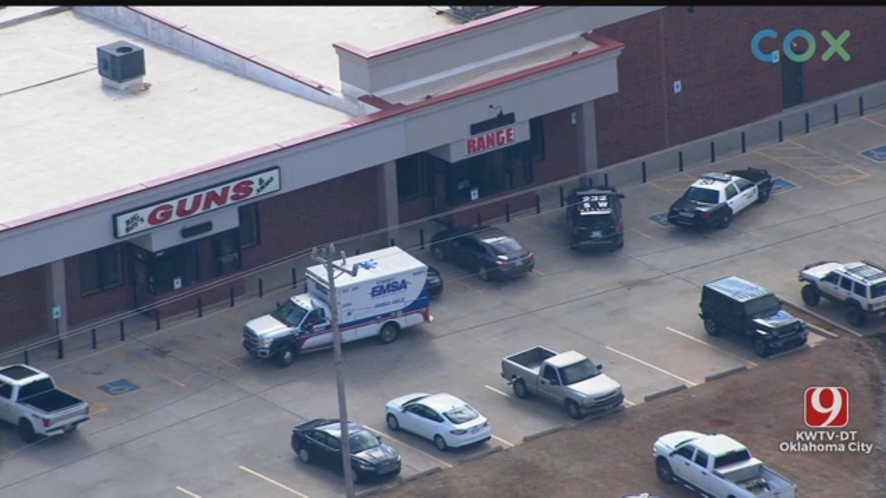 Police: 1 Dead In Shooting At Gun Range In SW OKC