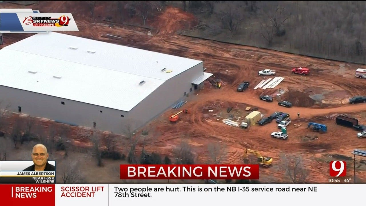 Industrial Accident Reported In NE OKC