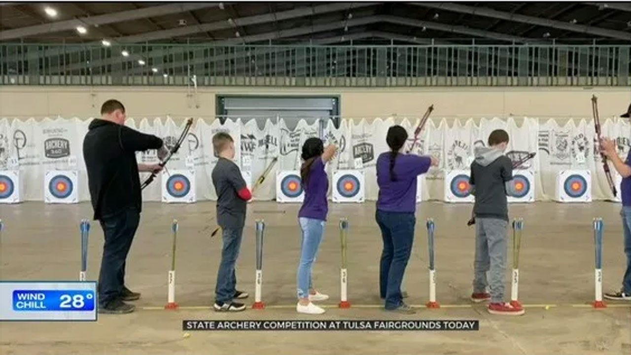 'Varsity Archery' Program Brings New Challenge to Oklahoma Students