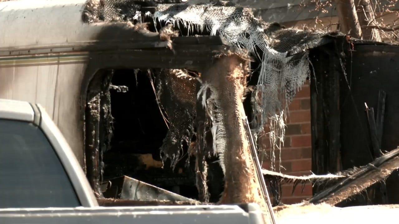 OCFD: 2 Found Dead Inside RV After Fire In SW OKC