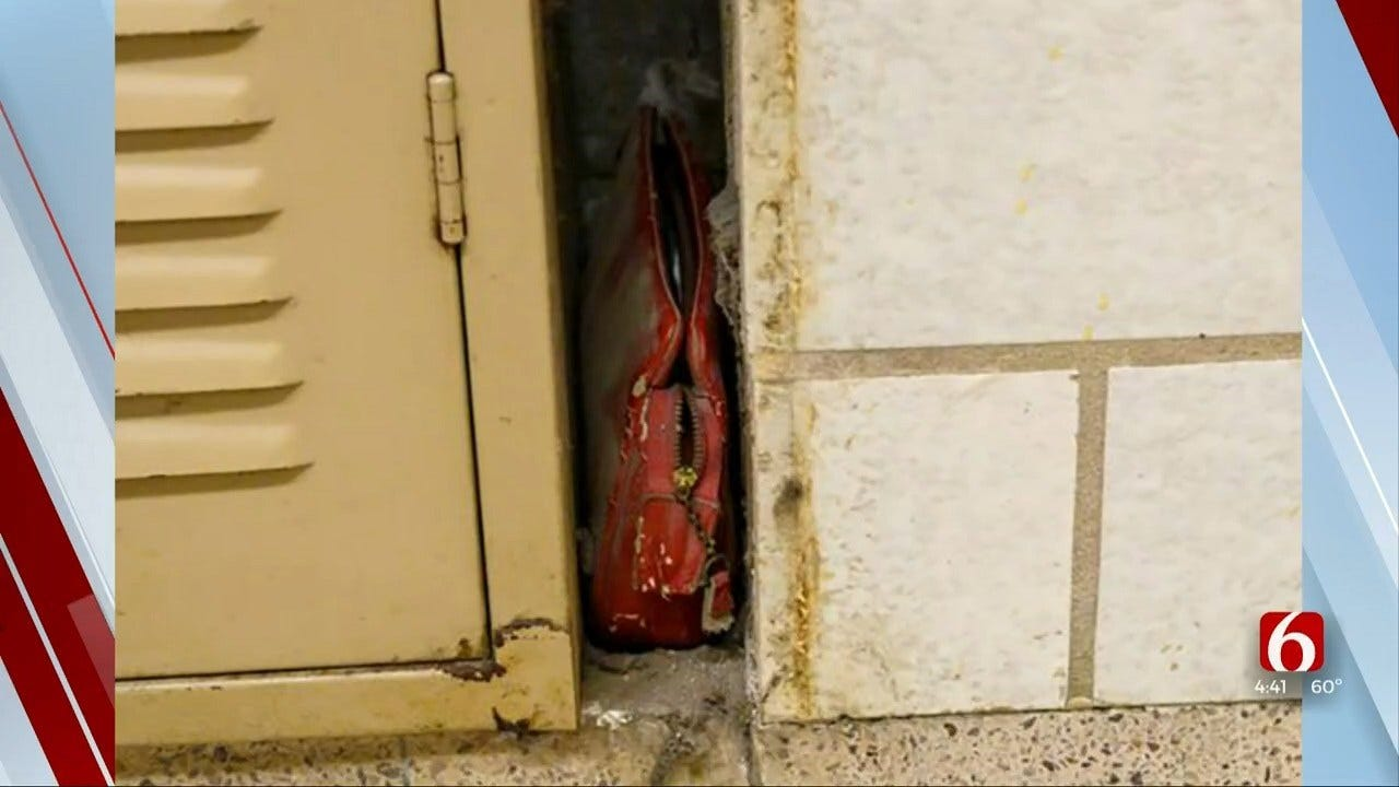 Something To Talk About: School Janitor Finds Purse Lost In 1956