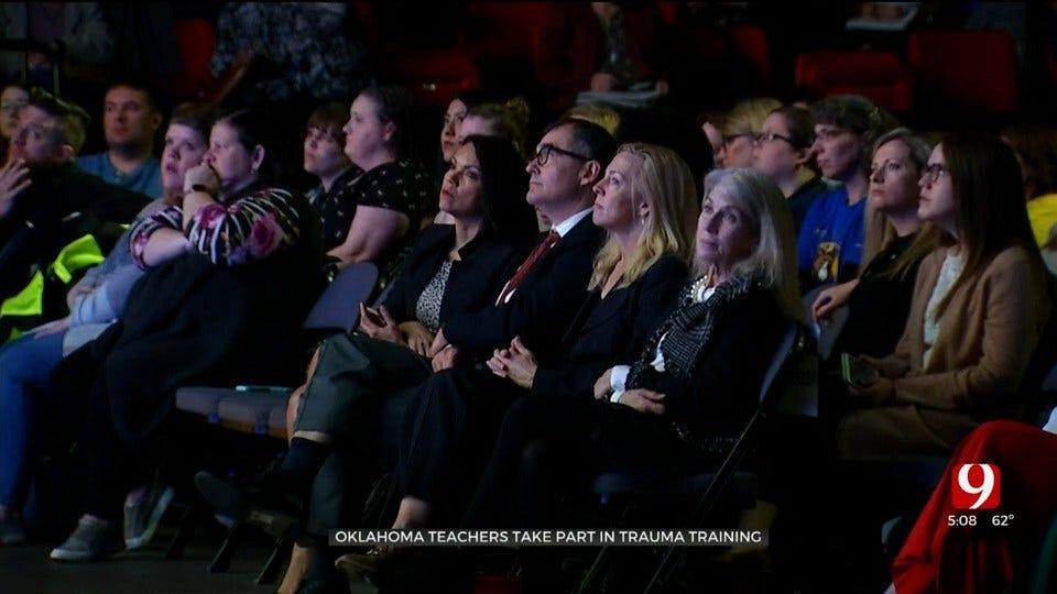 Thousands Of Oklahoma Teachers Take Part In Trauma Training Summit