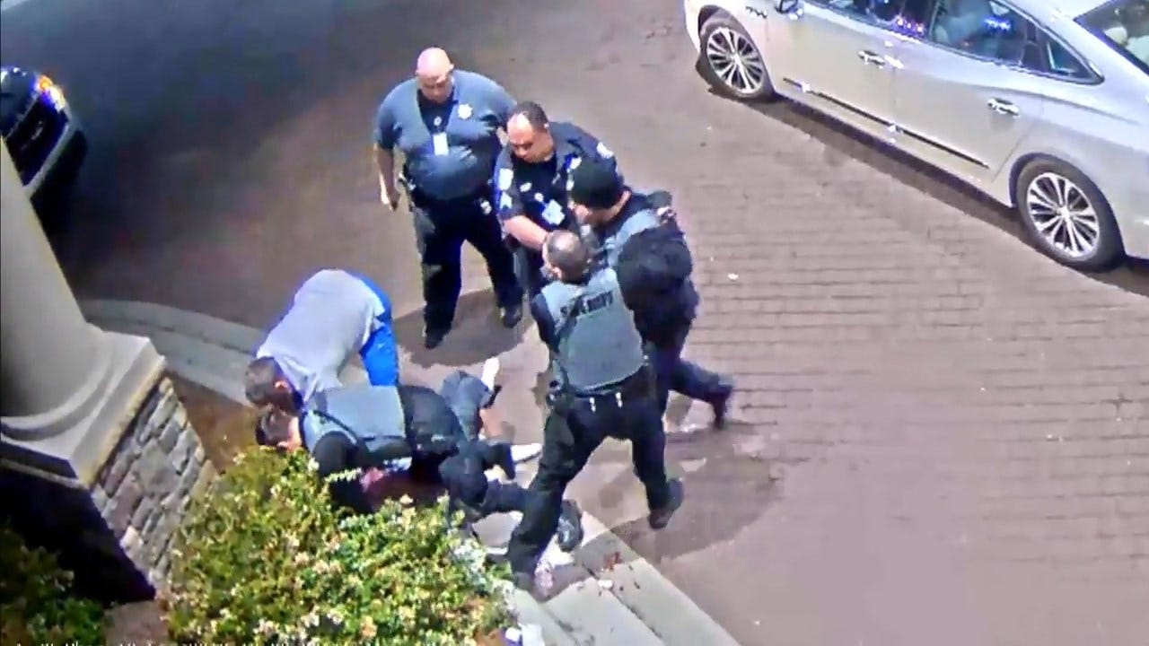 Dramatic Hospital Video Shows Officers Tackle, Tase & Punch Teenager