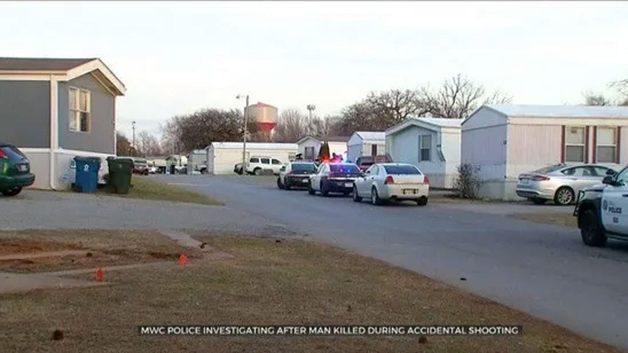MWC Police Investigate After Man killed During Accidental Shooting
