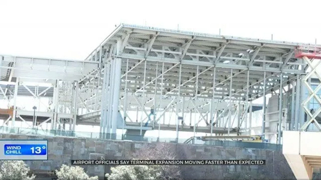 WRWA Officials Say Terminal Expansion Ahead Of Schedule