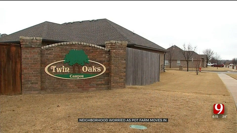 Pot Farm Approval Raises Concerns For Nearby OKC Residents