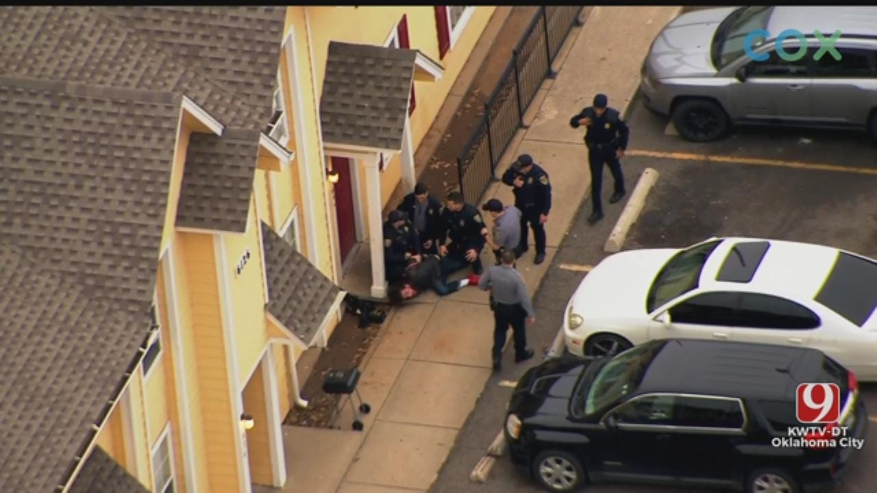 WATCH: High-Speed Chase Suspect Arrested After Fleeing From Police In NW OKC