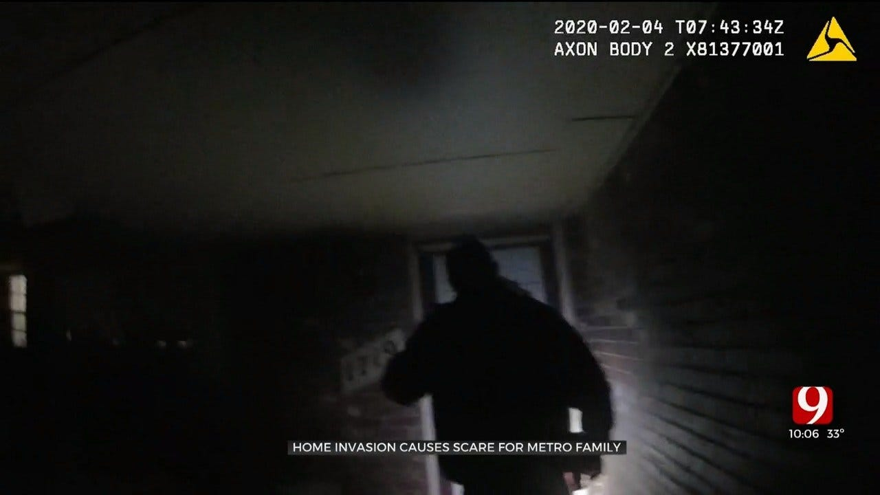 Intruders Break Into Home While Occupants Were Sleeping