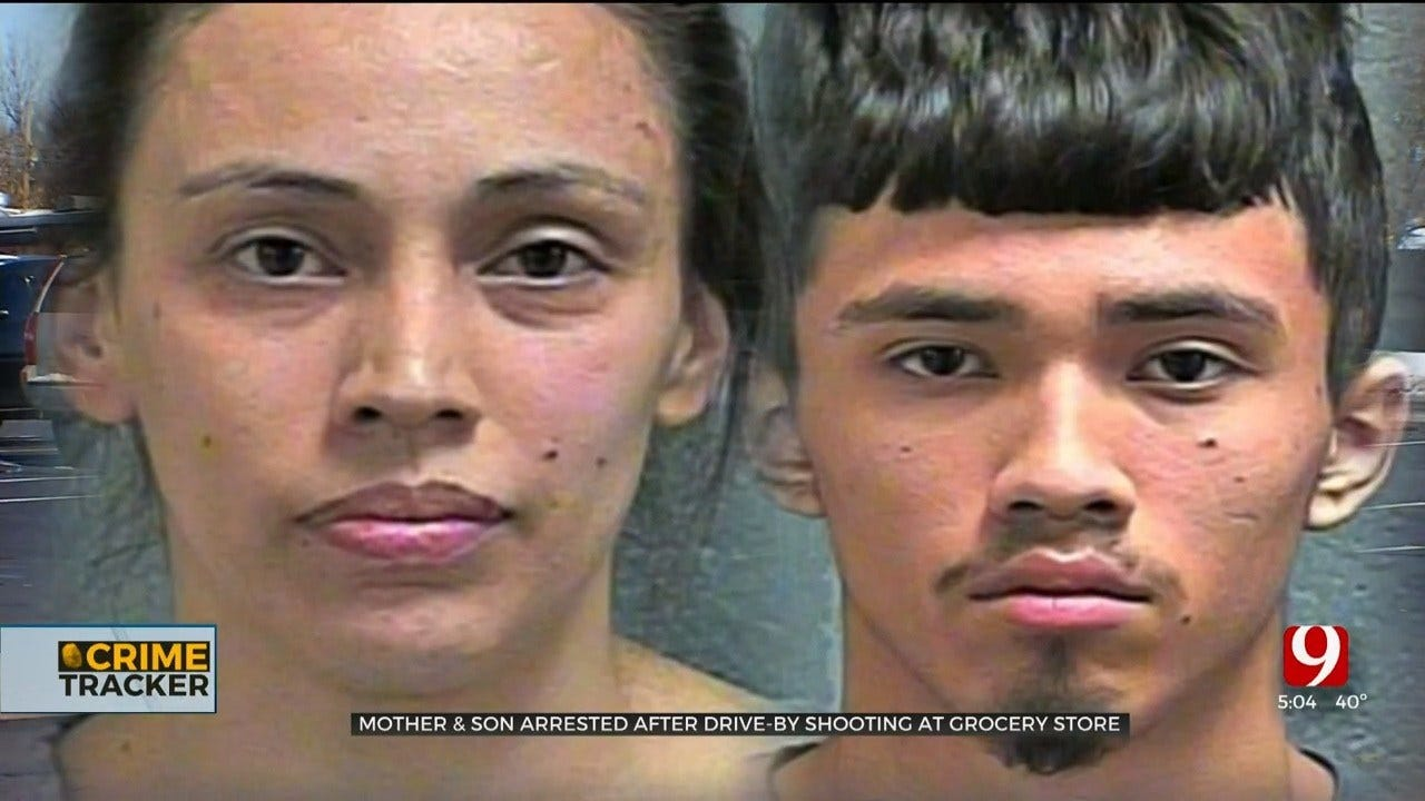Teen Boy, His Mother Arrested In Connection With Drive-By Shooting In SW OKC
