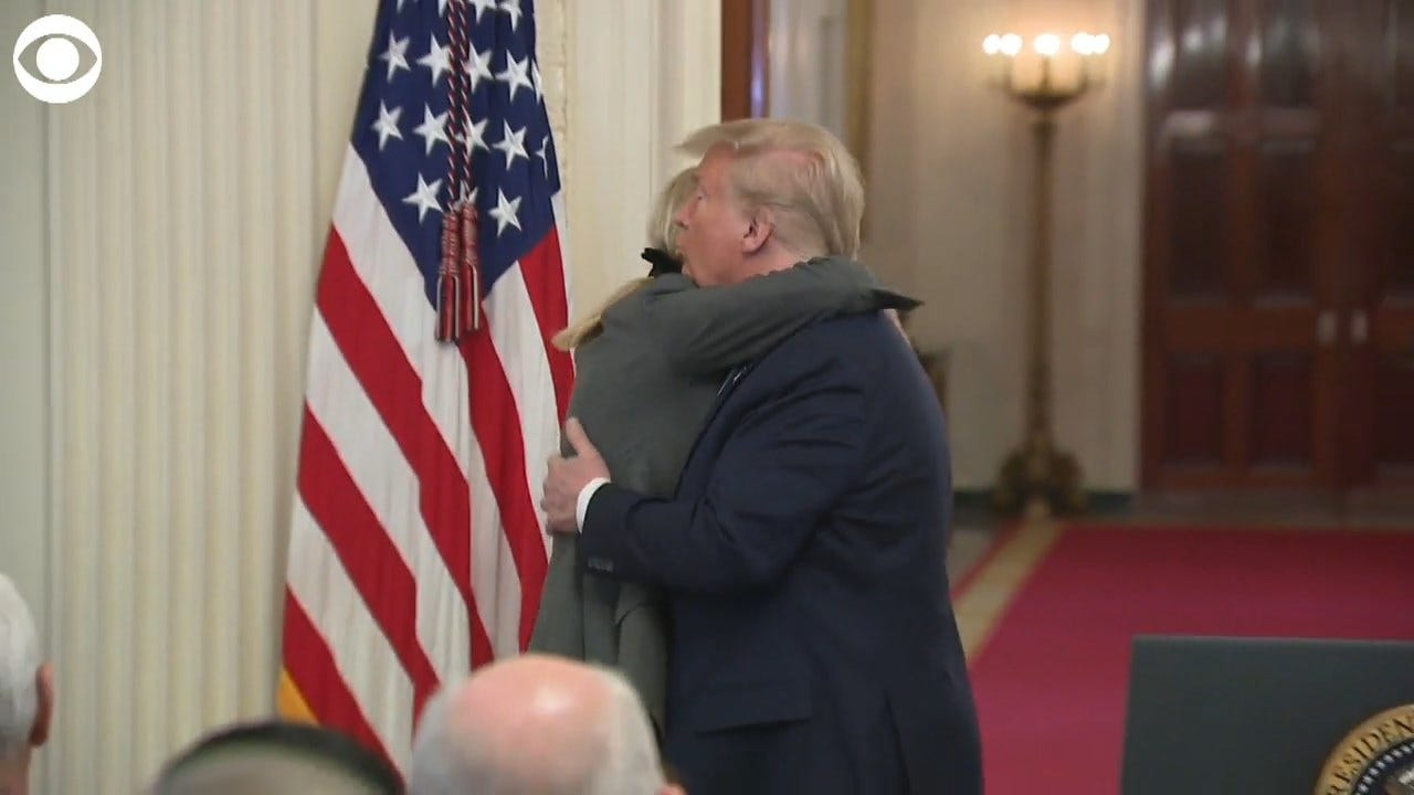 WATCH: President Trump Apologizes To Family For Having To Go Through Impeachment Process