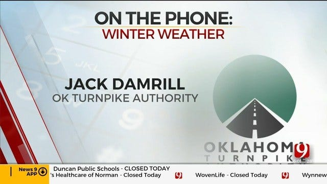 Phone Interview With Jack Damrill From The Oklahoma Turnpike Authority