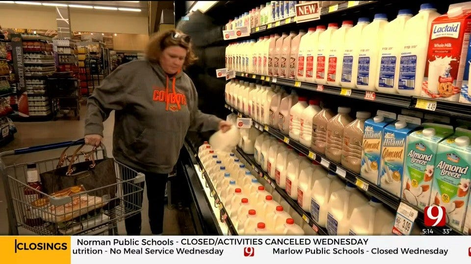 Group Think: Grabbing Milk And Bread Ahead of Storm