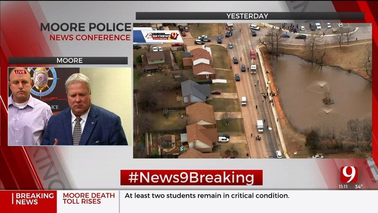 Officials Give An Update After 2nd Student Dies In Hit-And-Run Crash Near Moore High School