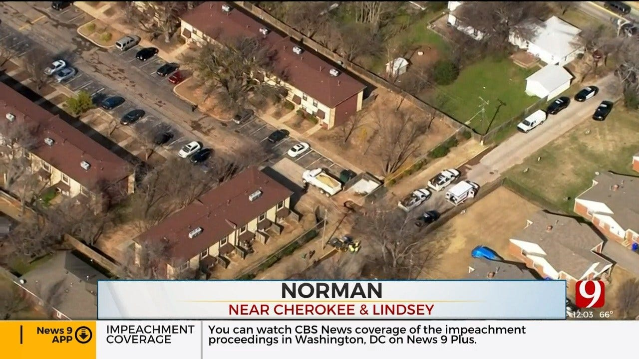 Police Investigate After Shots Fired At Norman Apartment Complex