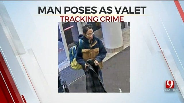 CAUGHT: Man Steals Car By Posing As Valet At OU Health Sciences Center