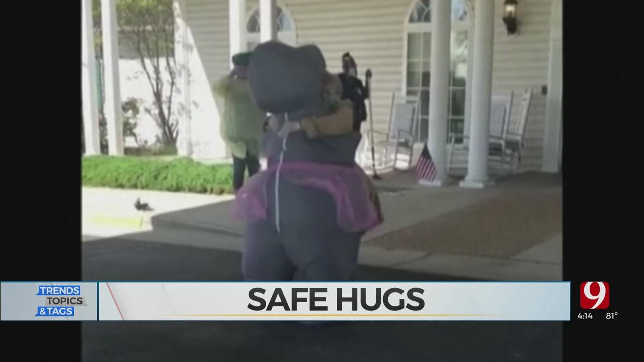 Trends, Topics & Tags: Safe Hugs