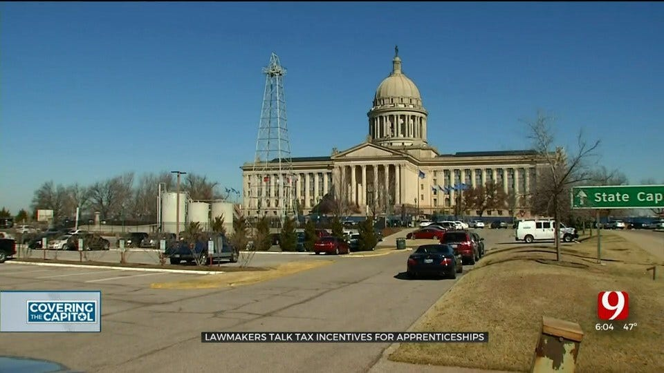 State Lawmakers To Consider Tax Incentives With Proposed Apprenticeship Bill
