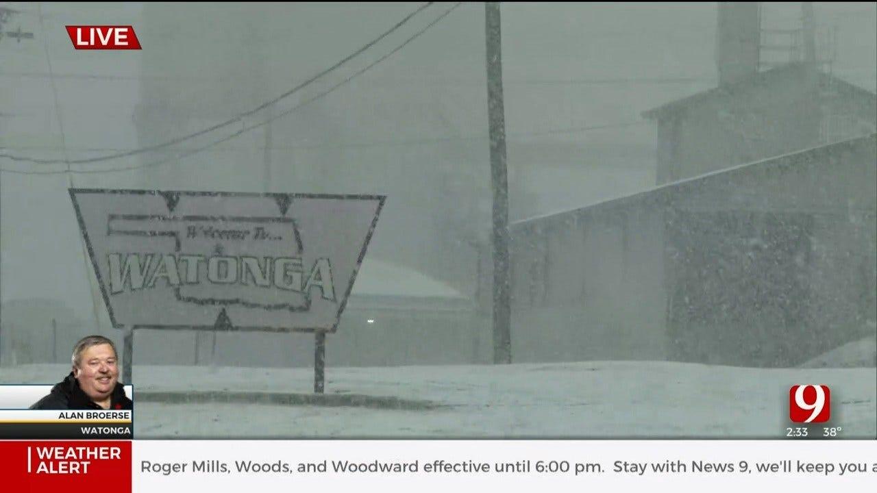 WATCH: David Payne's 2:40 P.M. Winter Weather Update