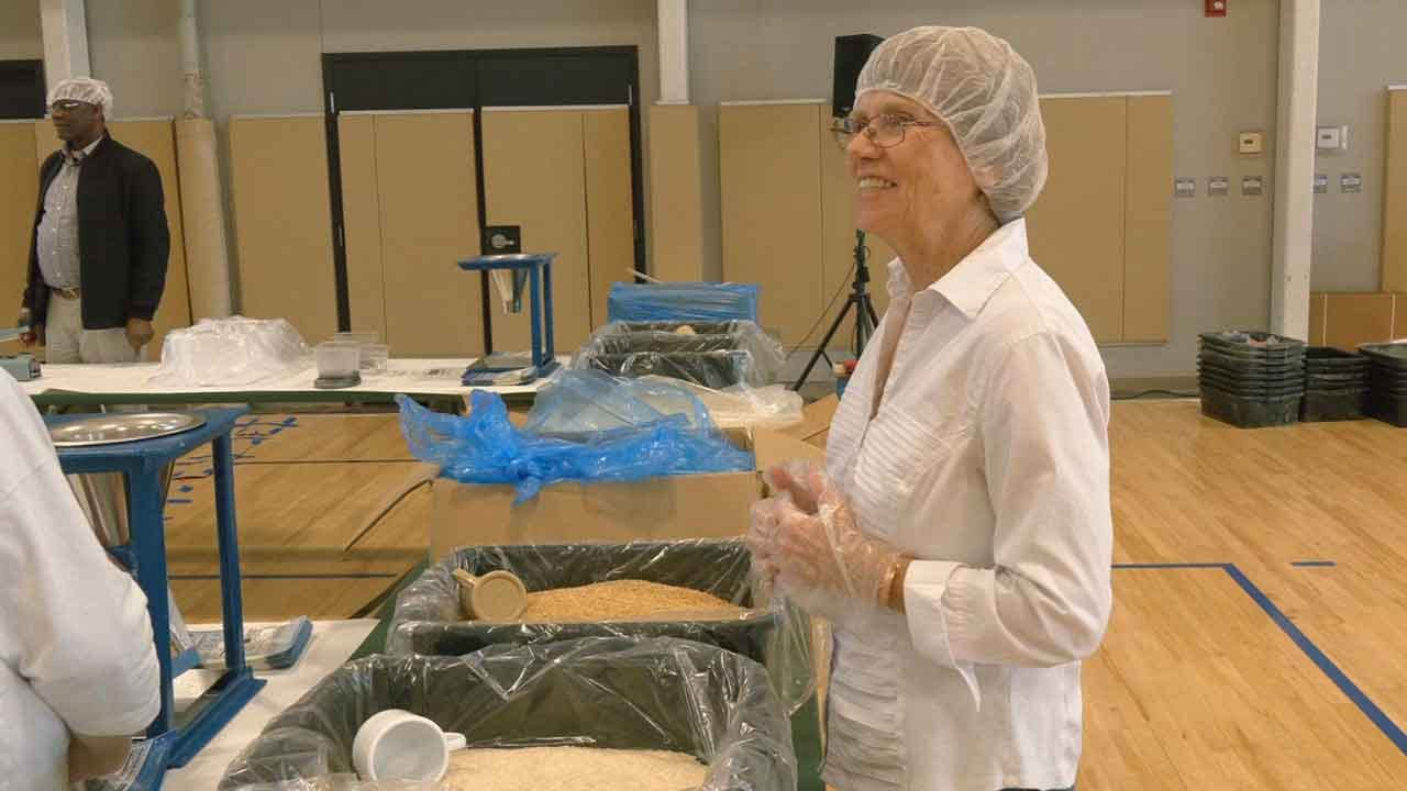 Bethany First Church Helps To Feed Starving Children