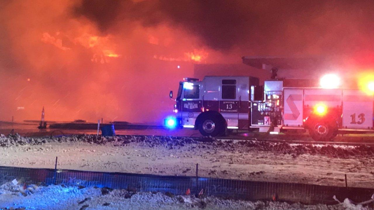4-Alarm Fire Destroys Part Of Southeast OKC Building