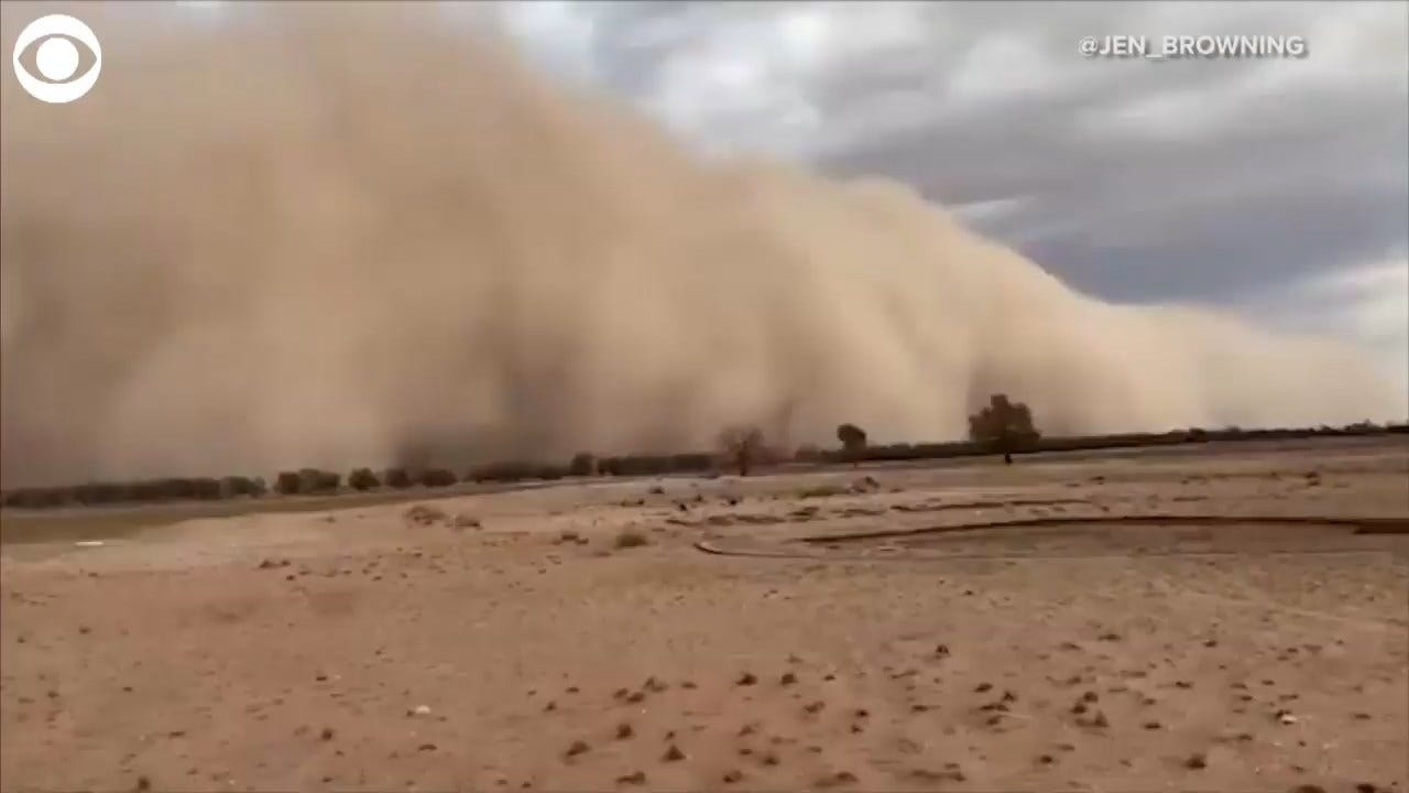 WATCH: Huge Australia Dust Storm