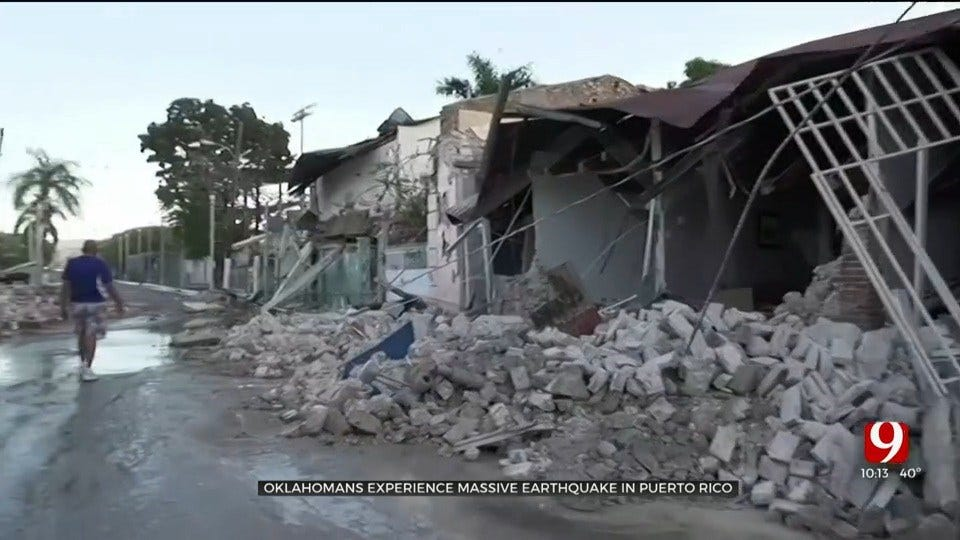 Oklahomans Recount Their Experience After Massive Earthquake In Puerto Rico