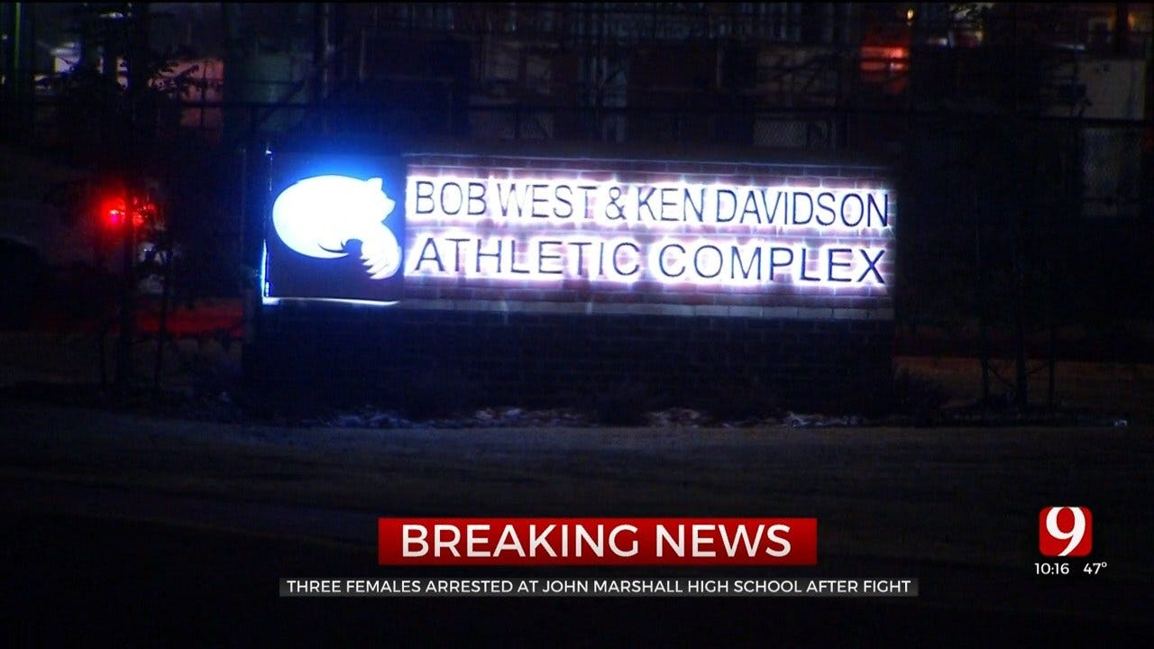 OKCPS: 3 Arrested After Fight Breaks Out At John Marshall High School Basketball Game