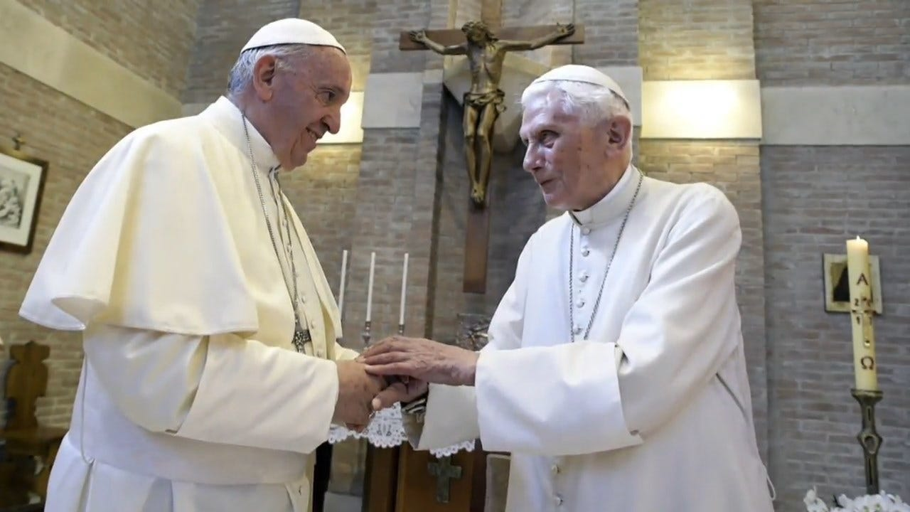 Celibacy Book Co-Authored By Former Pope Benedict Stirs Controversy At The Vatican
