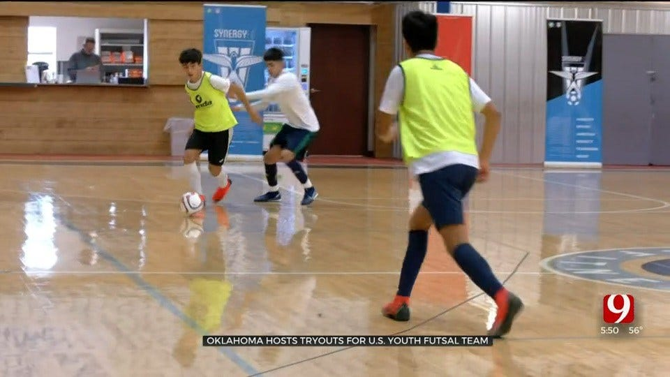 Indoor Soccer League Gives Kids Chance At National Team