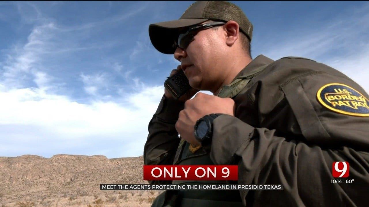 Border Patrol Agents Tough Rigorous Terrain To Protect Oklahomans