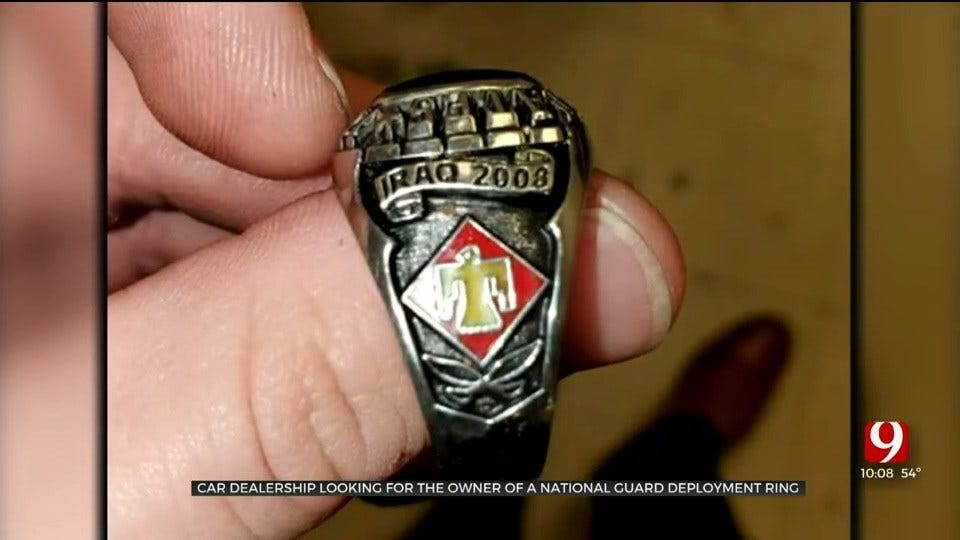 Fellow Solider Searches For Owner Of Lost Deployment Ring Found At Car Dealership