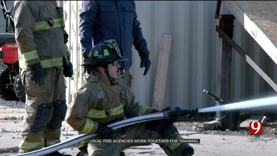 'More Inclusive Community:' Firefighters From Multiple Agencies Come Together For Training