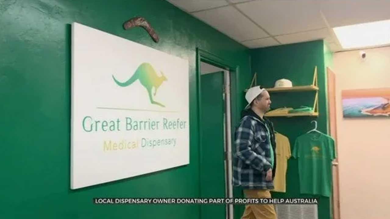 Bethany Dispensary Owner Donating Part Of Profits To Help Australia
