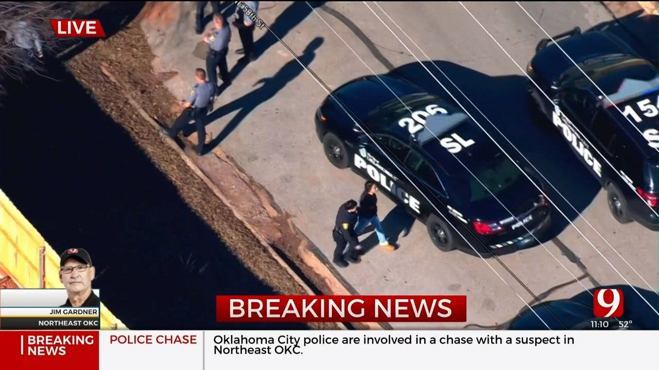 2 Detained After NE OKC Police Chase